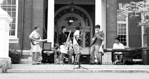 Rock Band Rocks the Circle