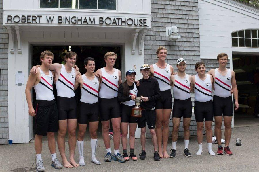 First+and+second+boats+after+winning+the+Cooke+Cup.