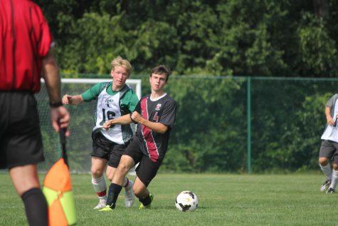 Boys Varsity Soccer Preseason Game