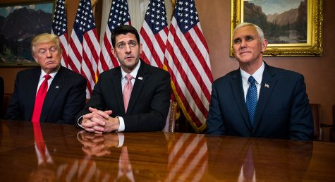 Triumverate: President Trump, Speaker Ryan, and Vice President Pence