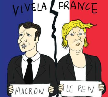 Liberté, égalité, and fraternité win out over malignité