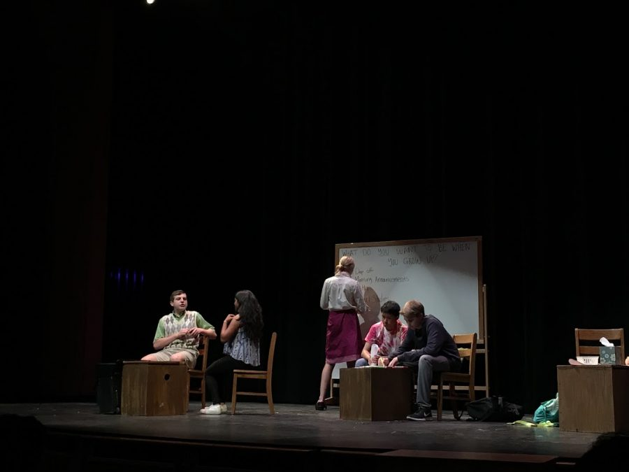 Students+perform+in+the+play+Detective+Axal+Atkinson+and+the+Sixth+Grade+Thief.
