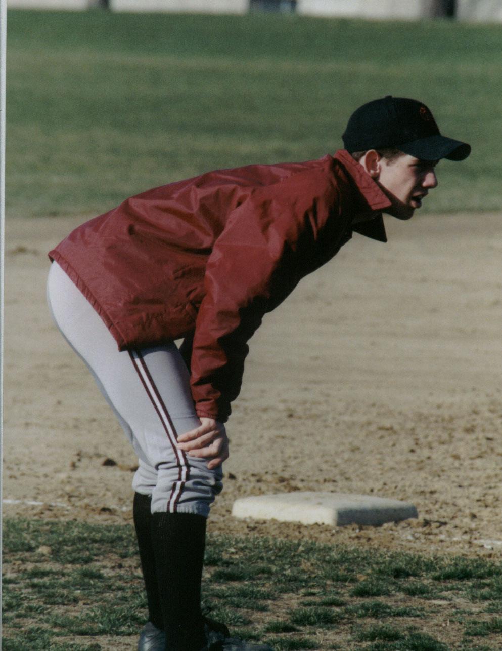 Mr. Bannard on JV Baseball in 1998