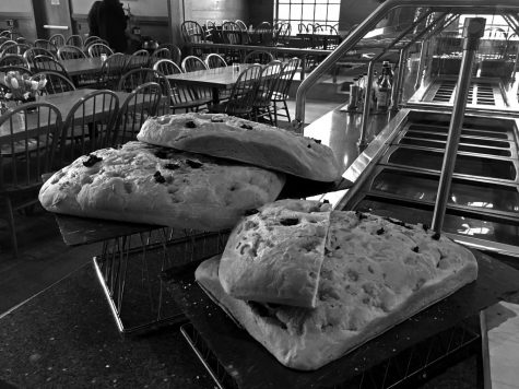 Bread in the Dining Hall.