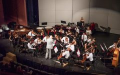 Chamber Orchestra performing at the 2018 Parents Weekend Concert.