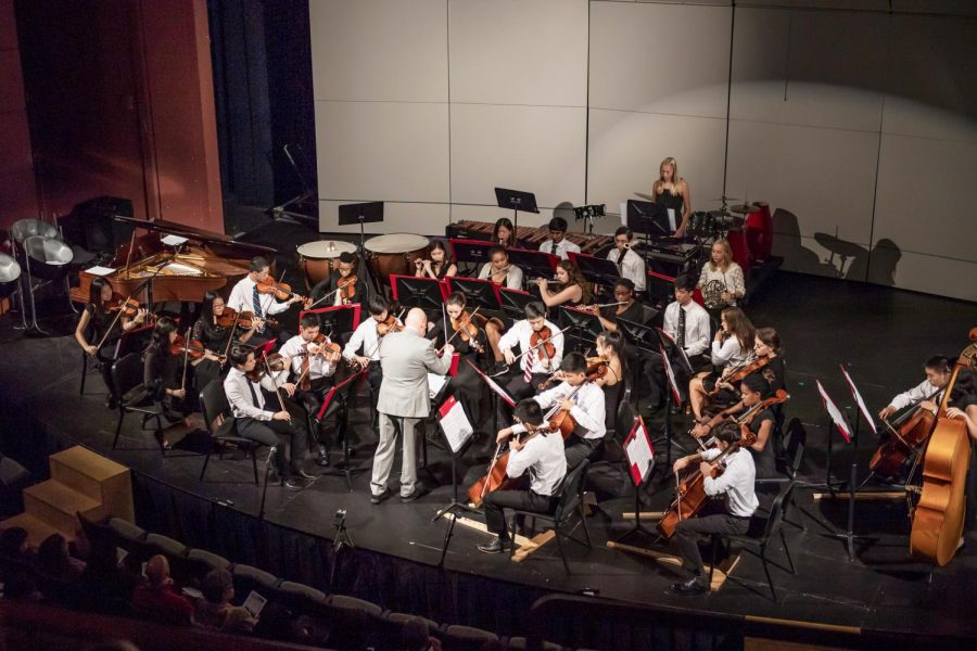Chamber+Orchestra+performing+at+the+2018+Parents+Weekend+Concert.