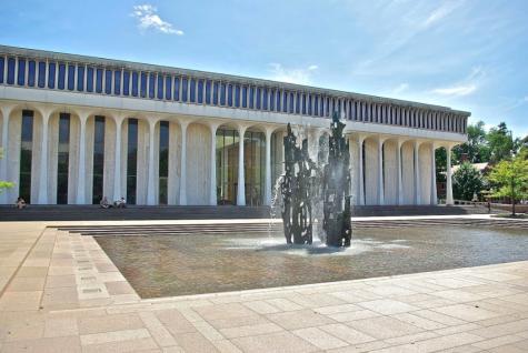 Woodrow Wilson School of International Affairs. Courtesy of Creative Commons.