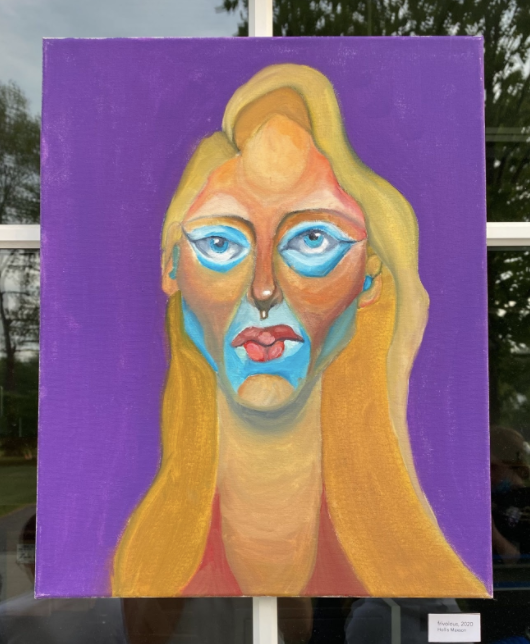 Advanced Studio Art Exhibition: Final Reflections from Seniors